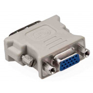 Gembird VGA -> DVI átalakító / VGA monitor csatlakozása DVI video kártyához /