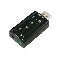 Logilink hangkártya 7.1  USB