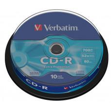 Verbatim CD-R [ cake box 10   700MB   52x   DataLife ] 43437