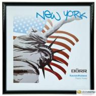 Dörr New York Square képkeret 10x10cm, fekete D801360