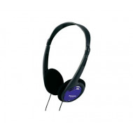 Panasonic RP-HT010E-A Black/Blue Fejhallgató,2.0,3.5mm,Kábel:1,2m,24Ohm,16-22000Hz,Black/Blue