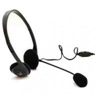 Ewent EW3563 Headset Black Headset,2.0,3.5mm,Kábel:2,1m,Mikrofon,Black,lásd részletek