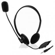 Ewent EW3567 Headset Black Headset,2.0,3.5mm,Kábel:1,2m,Mikrofon,Black,lásd részletek