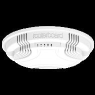 Mikrotik (RBcAP2nD) cAP 2nD Access Point, mennyezeti, 1x 10/100, wireless-b/g/n, passzív PoE cAP-2nD