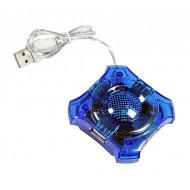 ESPERANZA 4-portos USB2.0 HUB kék EA150B