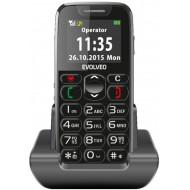 Evolveo EP-500 Easyphone időstelefon - fekete
