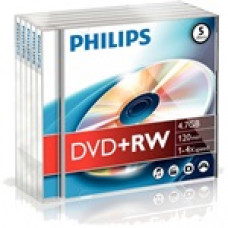 Philips DVD+RW47 4x újraírható DVD lemez DPHPW