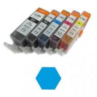 MMC Canon CLI-526C utángyártott chipes kék patron /GC-00526C/