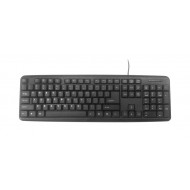 Keyboard Gembird KB-U-103, USB 1.4m, Standard full size, RU layout KB-U-103-RU