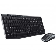 Logitech Desktop MK270 Cordless Keyboard + Mouse GER  (920-004511)
