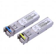 Ubiquiti UF-SM-1G-S 1.25Gbps SFP 1xLC (Single-Mode) 1310/1550nm BiDi 3km - Pair UF-SM-1G-S