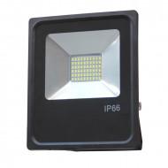 OPTONICA LED reflektor 30W, SMD, kültéri, semleges fehér fény - IP66