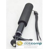 SJ/GP-154   95 cm-es műanyag monopod, oldalirányba rögzíthető, sportkamerához (SJCAM, GoPro)