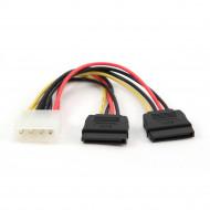 Gembird 2x SATA tápkábel, 15 cm CC-SATA-PSY