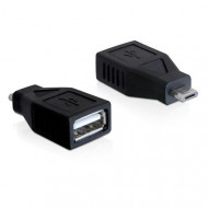 DeLOCK (65296) Adapter USB 2.0  (USB micro-B apa - USB 2.0-A anya)