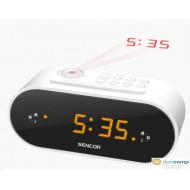 Sencor SRC 3100 W ébresztőórás rádió fehér