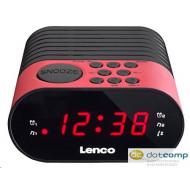 Lenco CR-07 P FM szintézeres ébresztősrádió pink
