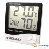 Vivamax páratartalom és hőmérő /GYVPM/