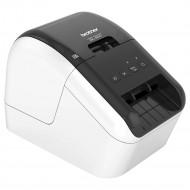 BROTHER Címkenyomtató QL-800, Fekete/Piros nyomtatás, DK szalag: 62mm-ig, 148 mm/s, 300 dpi, USB 2.0, PT Editor Lite QL800YJ1