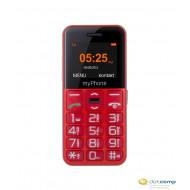myPhone Halo Easy mobiltelefon piros