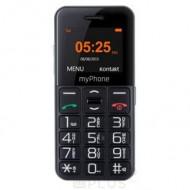 myPhone Halo Easy mobiltelefon fekete