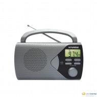 Hyundai PR200S hordozható rádió ezüst