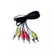 OEM 3 RCA M/M AV kábel 1.8m
