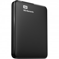 WD - EXT HDD MOBILE ELEMENTS PORTABLE SE 1TB        WDBUZG0010BBK-WESN