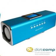 Technaxx MusicMan Display Soundstation Bluetooth hangszóró kék /3548  /