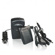 Whitenergy Nikon ENEL2 800mA tápcserés akkumulátortöltő 06367