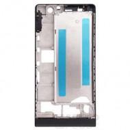 Huawei Huawei Ascend P6 középső keret, fekete
