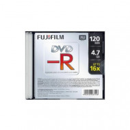 Fujifilm DVD-R írható DVD lemez 4,7GB vékony tok