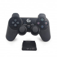 Gembird Wireless dual vibration gamepad, PS2/PS3/PC JPD-WDV-01 JPD-WDV-01