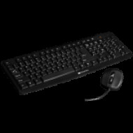 CANYON USB standard keyboard, HU layout, bundled with 1000dpi wired mice. Black. CNE-CSET1-HU