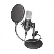 Trust Mikrofon - Emita Studio (Professzionális, Studió design, Zaj szűrő előtét, USB, 180cm kábel, á 21753