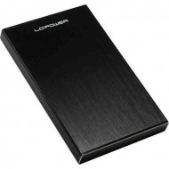 "LC Power LC-25U3-Becrux 2.5"" SATA3 USB3.0 Black"