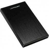 "LC Power LC-25U3-Becrux 2.5"" SATA3 USB3.0 Black"