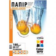 ColorWay Fotópapír , fényes 180g, 10×15, 50 lap