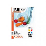 ColorWay Fotópapír , matt 190g, A4, 20 lap