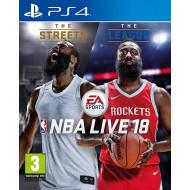 NBA LIVE 18 PS4 CZ/SK/HU/RO 1027143
