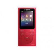 Sony NW-E394 (Piros) 8GB MP3 és multimédia lejátszó