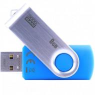 GOODRAM 8GB USB2.0 UTS2 Kék (UTS2-0080B0R11) Flash Drive UTS2-0080B0R11