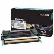 Lexmark C746 Black lézertoner, eredeti 12K/C746H1KG
