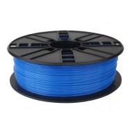 Filament Gembird ABS Fluorescent Blue   1,75mm   1kg 3DP-ABS1.75-01-FB