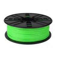 Filament Gembird ABS Fluorescent Green   1,75mm   1kg 3DP-ABS1.75-01-FG