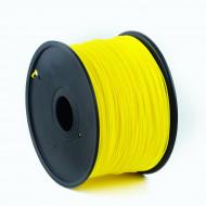 Filament Gembird ABS Fluorescent Yellow   1,75mm   1kg 3DP-ABS1.75-01-FY