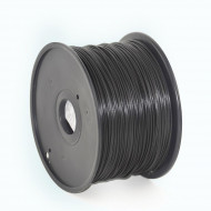 Filament Gembird PLA Black   1,75mm   1kg 3DP-PLA1.75-01-BK