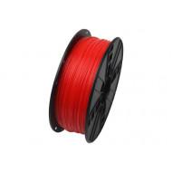 Filament Gembird PLA Fluorescent Red   1,75mm   1kg 3DP-PLA1.75-01-FR