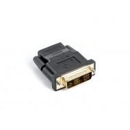 Lanberg adapter HDMI(F)-DVI-D(M) (18+1) AD-0013-BK