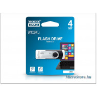 GOODRAM 4GB USB2.0 UTS2 Fekete (UTS2-0040K0R11) Flash Drive UTS2-0040K0R11